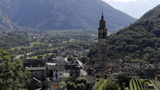 Wanderungen im Tessin, Via delle Vose