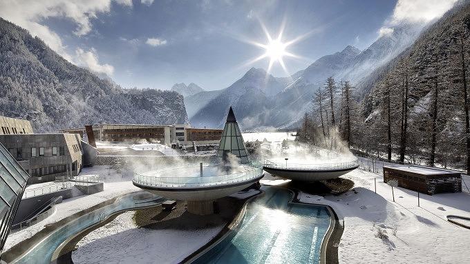 Aqua Dome Hotel & Therme, Winter in Tirol, Österreich