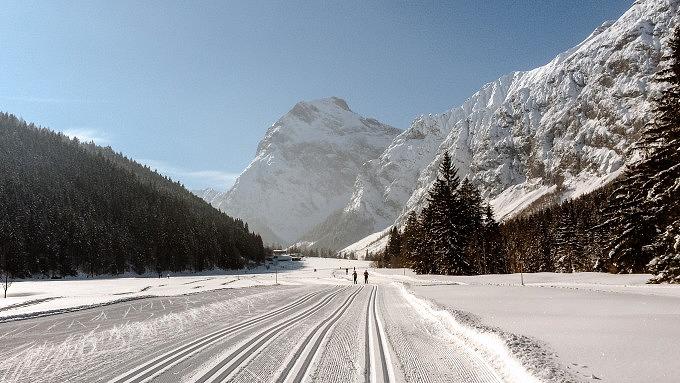 Pertisau, Winter in Tirol, Österreich