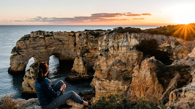 Praia da Marinha, Seven Hanging Valleys Trail, Portugal, Algarve