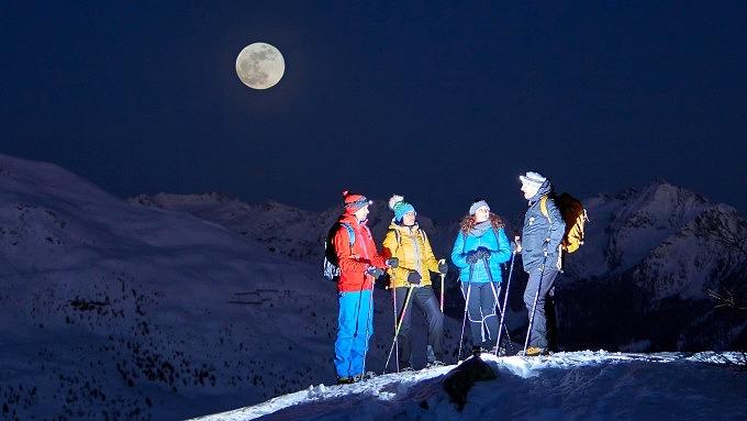 Nationalpark Hohe Tauern, Winter in Tirol, Österreich