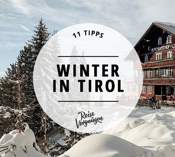 Winter in Tirol Österreich