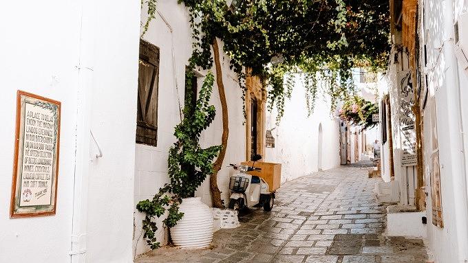 Lindos Altstadt, Rhodos Urlaub