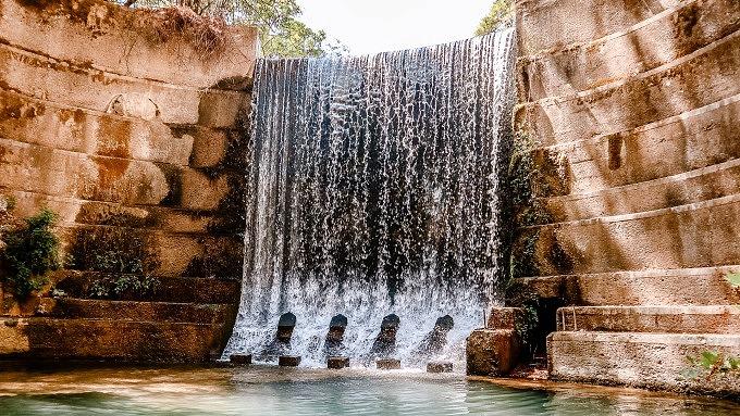 Rhodos Urlaub, Tal der sieben Quellen