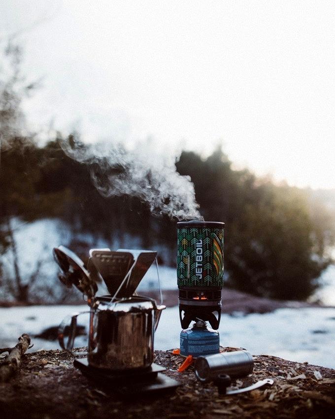 Camping, Kochen