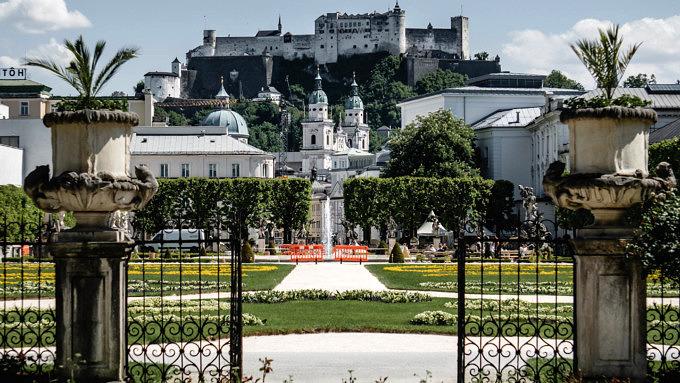 Salzburg, Mirabellgarten