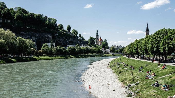Salzburg, Salzach
