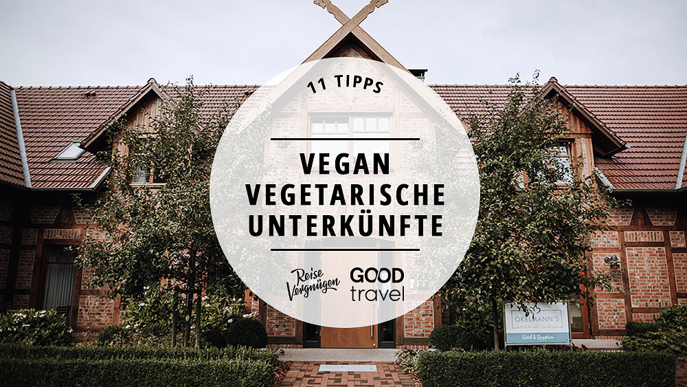 vegetarische vegane Unterkünfte in Deutschland
