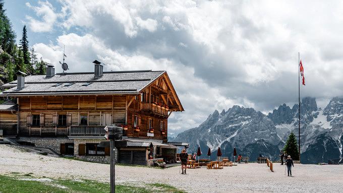dolomitenhöhenweg, dürensteinhütte