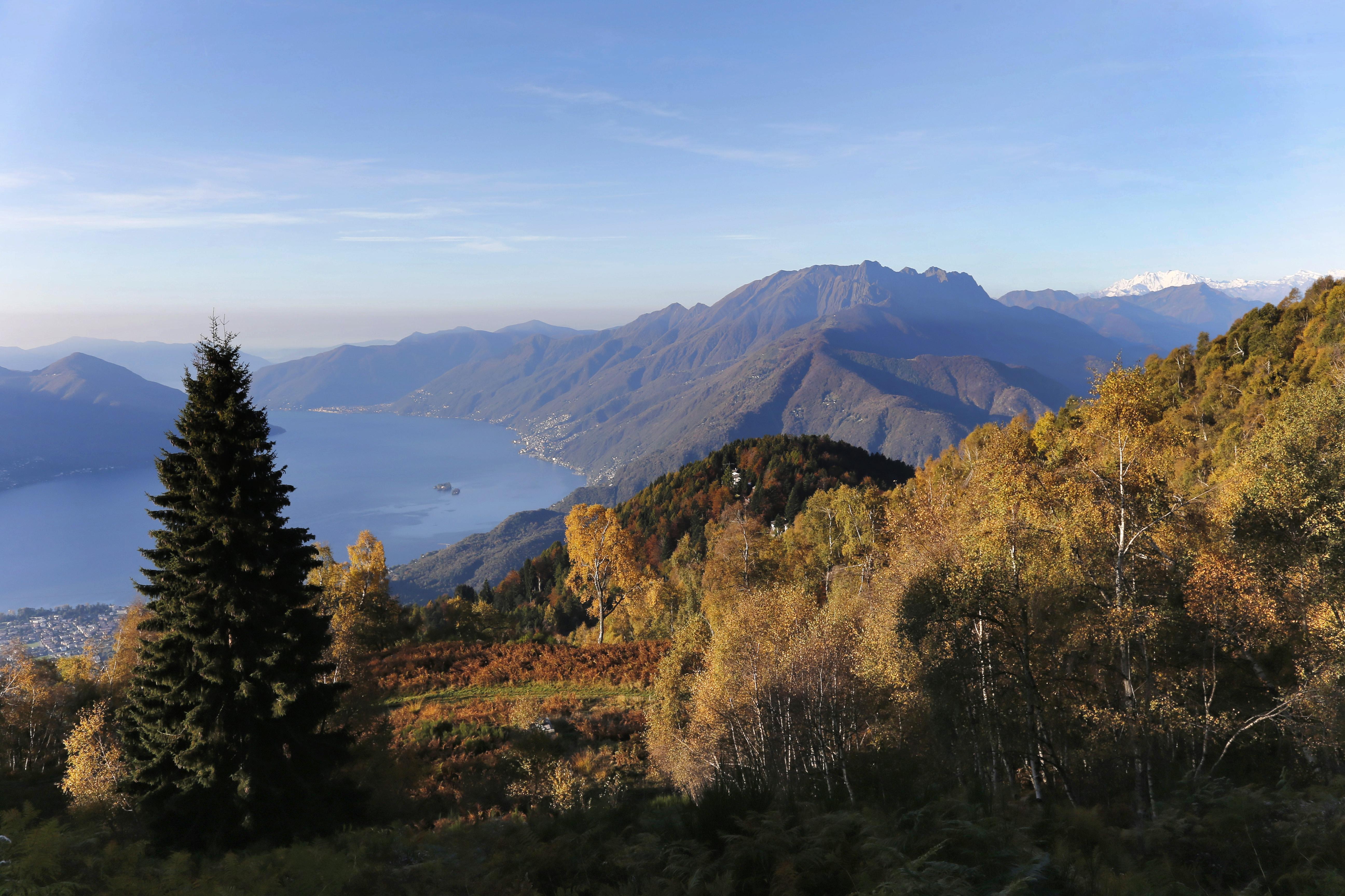 Hike Ticino - Orselina - Cardada - Cimetta - Trosa - Mergoscia-Copyright Ticino Turismo, Foto Remy Steinegger, solo uso turistico , no commerciale