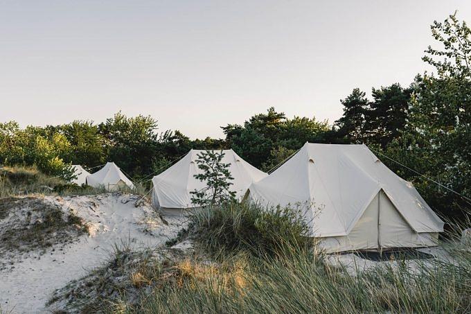 Bornholm, Eco Beach Camp, Dänemark, Glamping