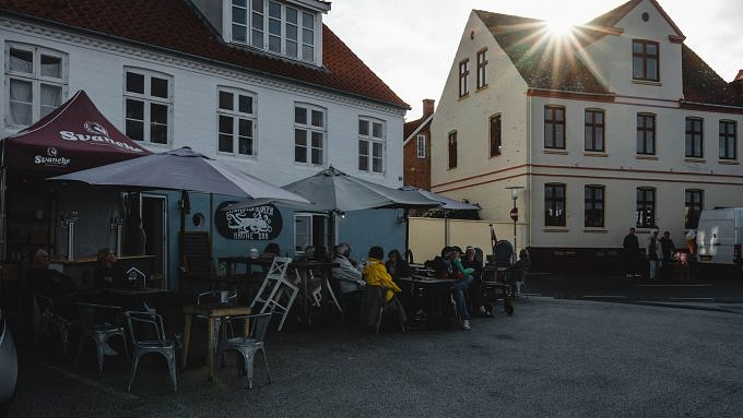 Bornholm, Gudhjem, Dänemark