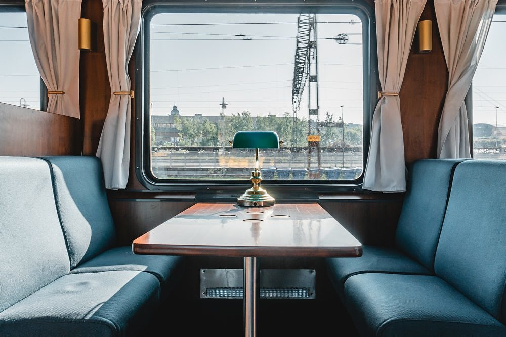 Snälltåget, Nachtzug Berlin Stockholm, Bistro