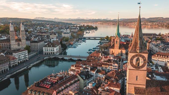 Zürich, Nachtzug durch Europa