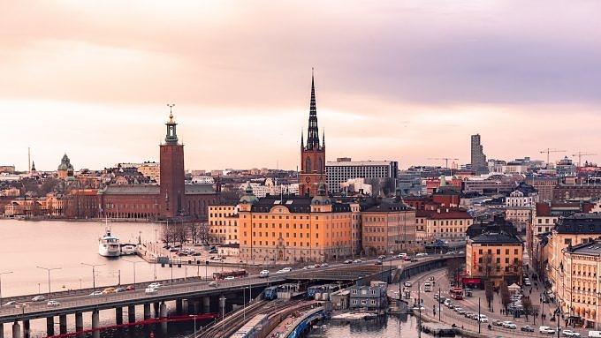 Stockholm, Nachtzug durch Europa