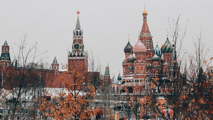 Moskau, Russland, Nachtzug durch Europa