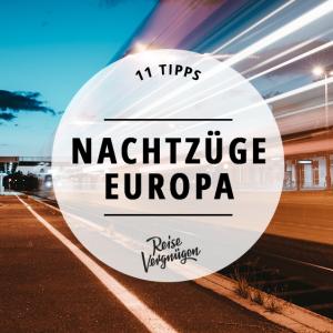 Nachtzug durch Europa