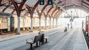 Malmö Bahnhof, Schweden
