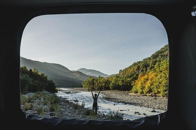 Camping in Albanien