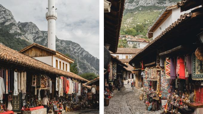 Kruja, Albanien Urlaub
