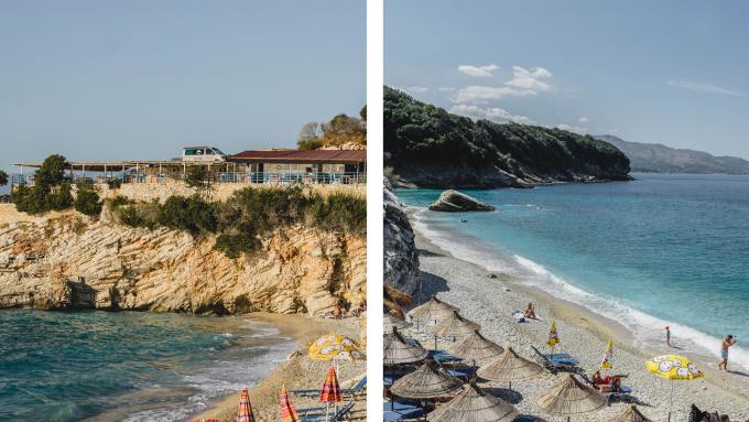 albanien, pulebardha beach