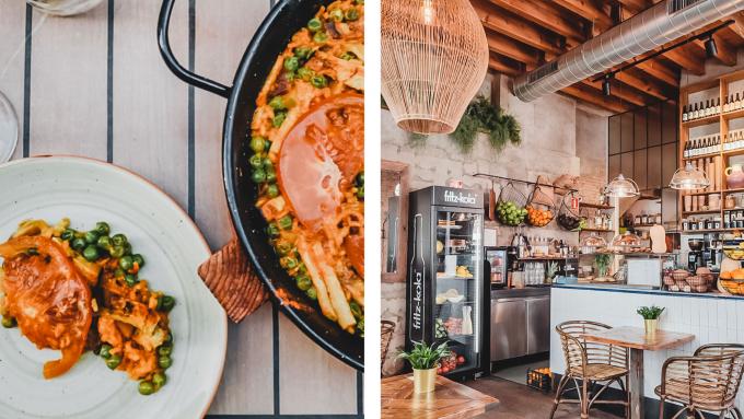 vegane hotspots, Sevilla